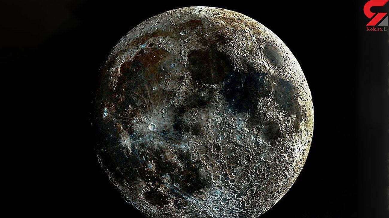 برای اولین بار منتشر شد / واضح ترین عکس از ماه