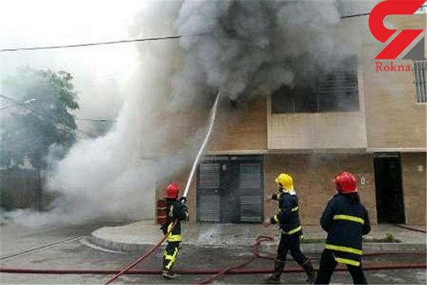 شارژر لپ تاپ باعث آتش گرفتن خانه ای در نوشهر شد