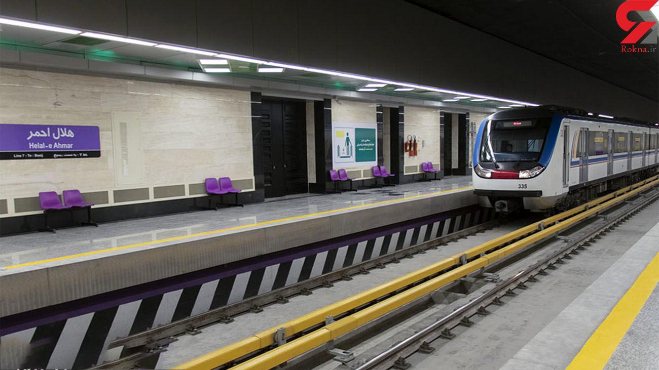 در متروی تهران موردی از رمانی و یا فروش مواد مخدر گزارش نشده است