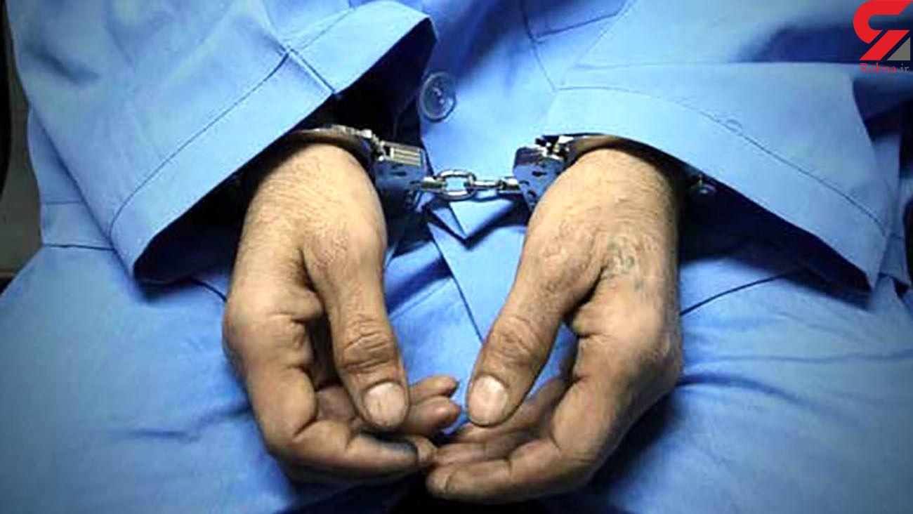 """سارق حرفه ای در دام پلیس """"ماهشهر"""""""