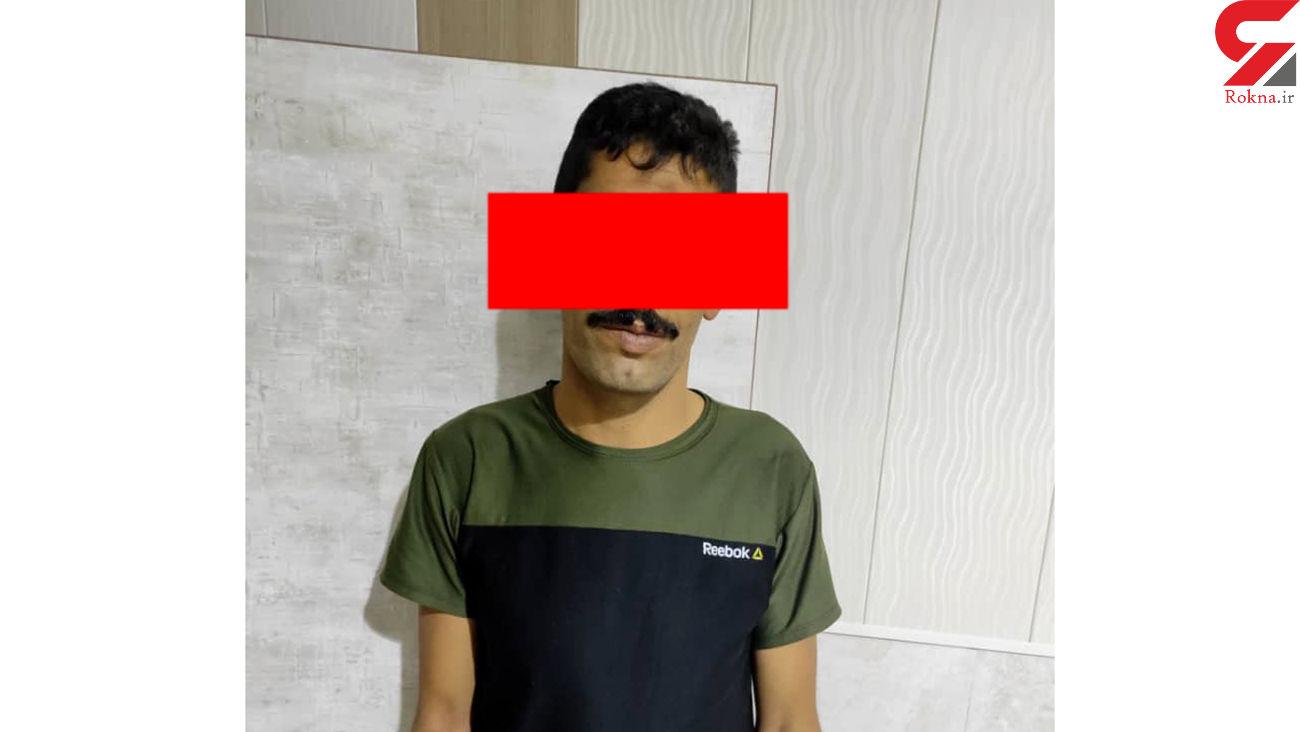 سارق موتورسیکلت مقابل بیمارستان های آبادان دستگیر شد