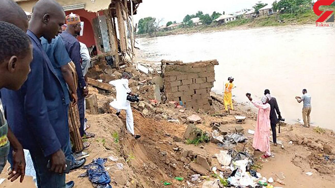جاری شدن سیل در نیجریه ۳۰ نفر را به کام مرگ کشید