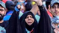 زن عراقی که به خاطر برد عراق مقابل ایران  جهانی شد! + عکس