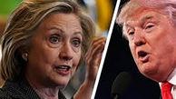هیلاری کلینتون در توئیتی نوشت: ترامپ گردباد فساد انسانی است