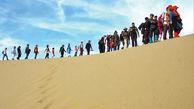 ورود تور گردشگری به مناطق کویری ممنوع است