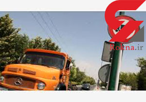 ورود همه کامیونها به استثنای حاملان مواد سوختی و فاسد شدنی به جاده هراز ممنوع شد