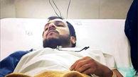 حمله 2 چاقوکش به محمد تولایی طلبه مشهدی + عکس