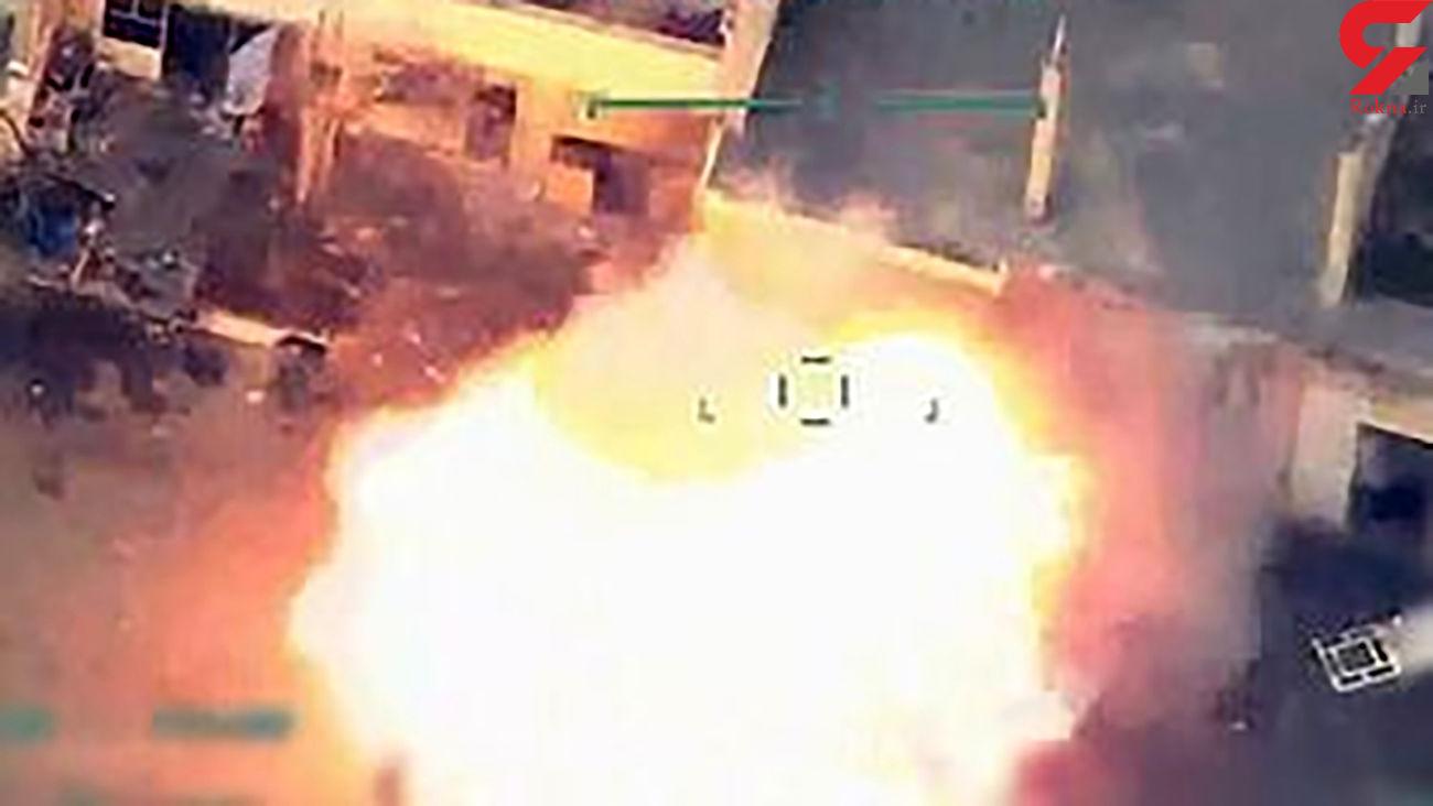 سقوط هواپیمای جاسوسی ترکیه در حلب