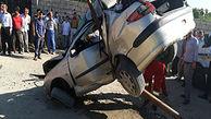 حادثه رانندگی در جاده امامزاده ارومیه
