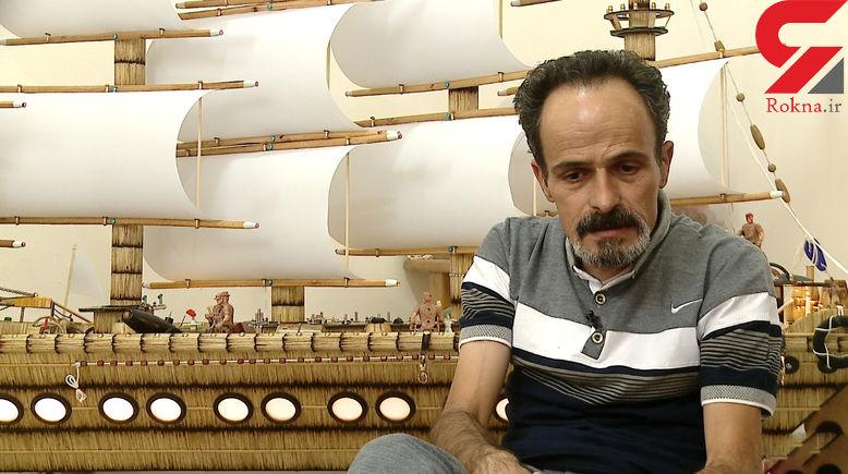 مرد زنجانی که کبریت ها را از اعتیاد به سوی هنر هدایت کرد+ عکس های دیدنی