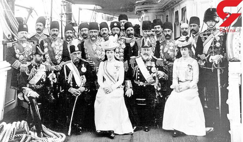 اندازه دامن زنان شاه های ایران + عکس