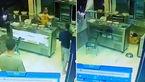 حمله خونسردانه با کلاشینکف به مرد مغازه دار + فیلم