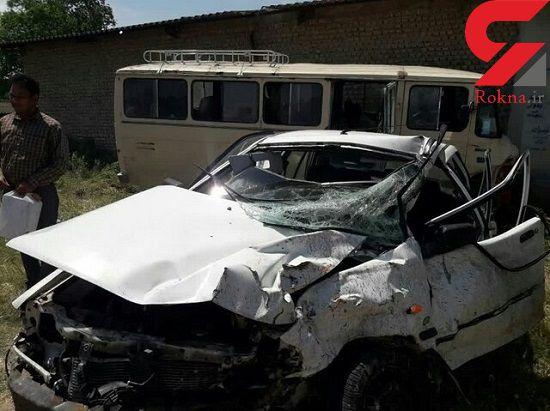 فاجعه در گلستان باعث قربانی شدن 14 نفر شد +عکس
