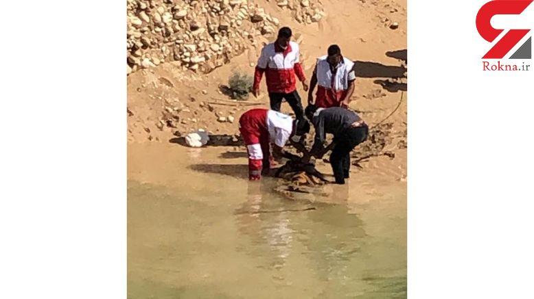 جسد جوان قربانی سیل فارس پس از 4 روز پیدا شد