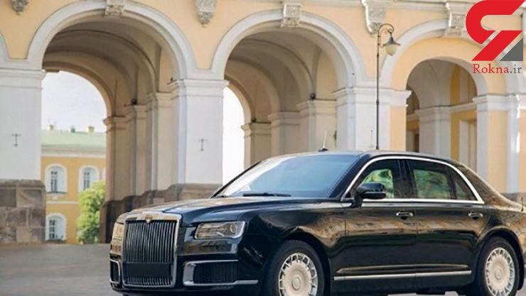 خودرو شخصی پوتین در لیست 4 خودرو برتر مقامات سیاسی قرار گرفت