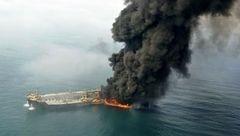 خبری تلخ از حادثه سانچی / دریا، گورستان ابدی شهدای نفتکش شد