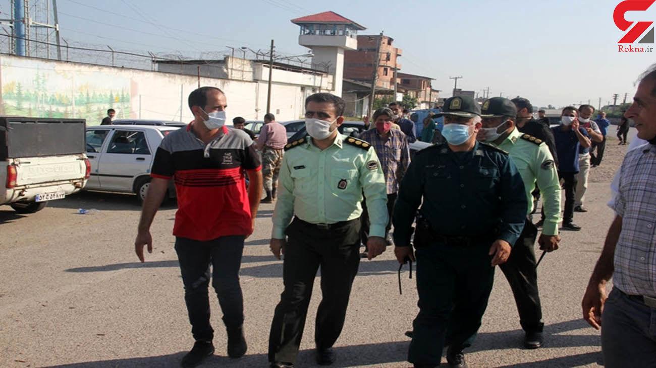 محبوبیت یک پلیس جان یک اعدامی را نجات داد / در قائمشهر همه شوکه شدند
