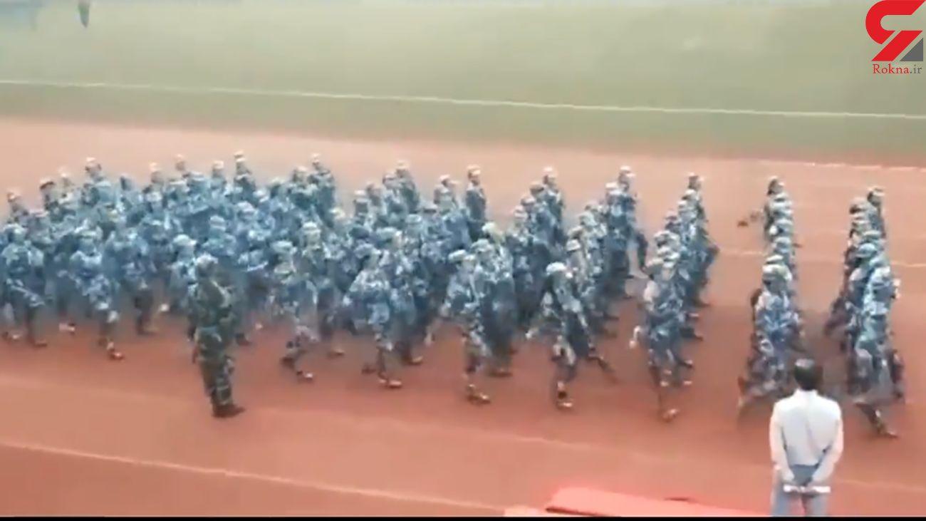 رژه ارتشی + فیلم