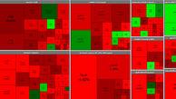 بورس امروز هم در مسیر سقوط قرار گرفت / چه بلایی بر سر بازار سرمایه آمده است؟ + جدول نمادها