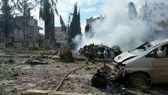 وقوع دو انفجار در ادلب سوریه با 13 کشته و 30 زخمی+عکس
