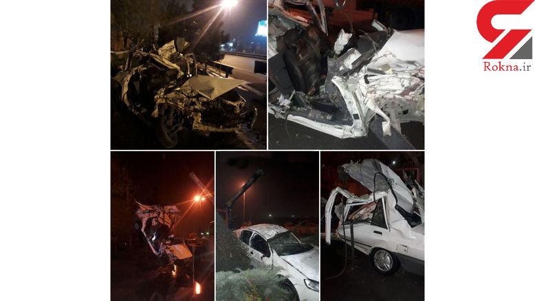 مرگ وحشتناک 3 جوان مشهدی در آزادی ! + عکس دلخراش