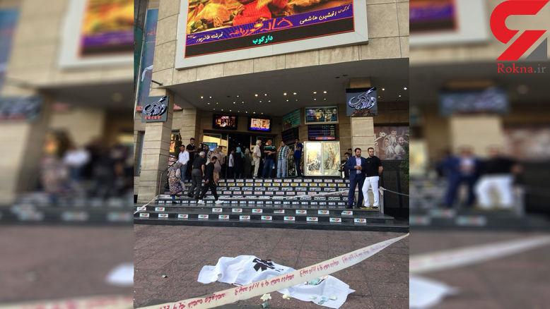 اولین تصویر از خودکشی ناگوار یک جوان در سینما آزادی