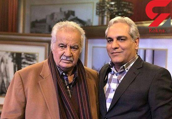پخش گفتگوی منتشر نشده دورهمی با ناصر ملک مطیعی از شبکه ماهواره