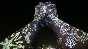 اجرای برنامههای هنری در برج آزادی