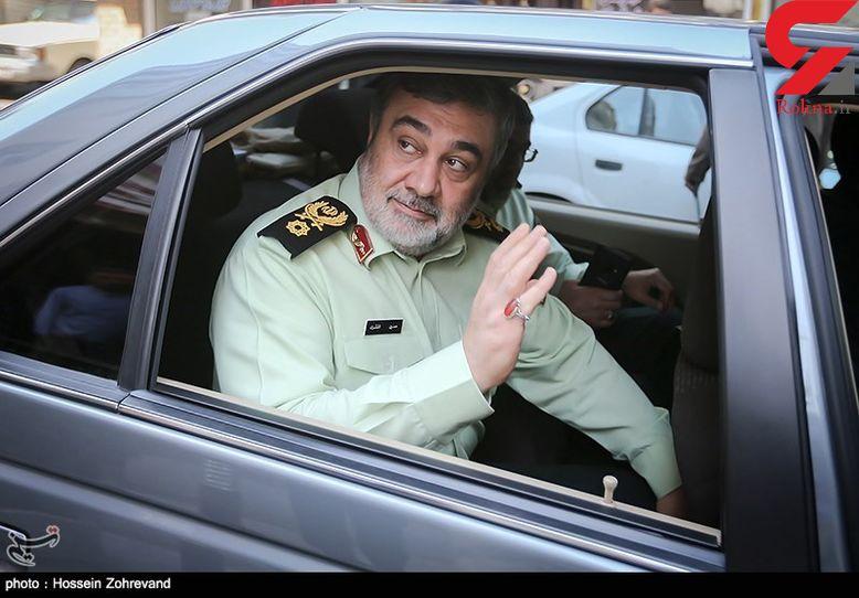 خودروی فرمانده ناجا چیست!+ عکس