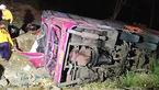 50 کشته و مصدوم در سانحه رانندگی میانمار