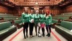جنجالی شدن بازی فوتبال زنان نماینده در مجلس !+تصاویر