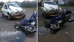 فیلم تصادف شدید در جاده فرعی +  عکس