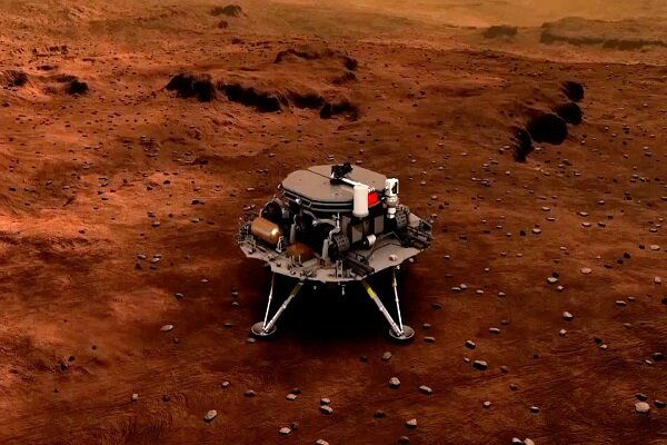 China's probe lands on Red Planet