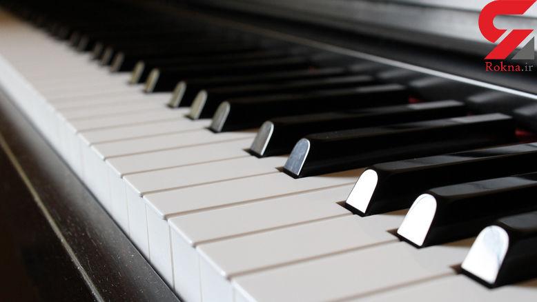 استفاده از پهپاد برای نواختن پیانو! + فیلم
