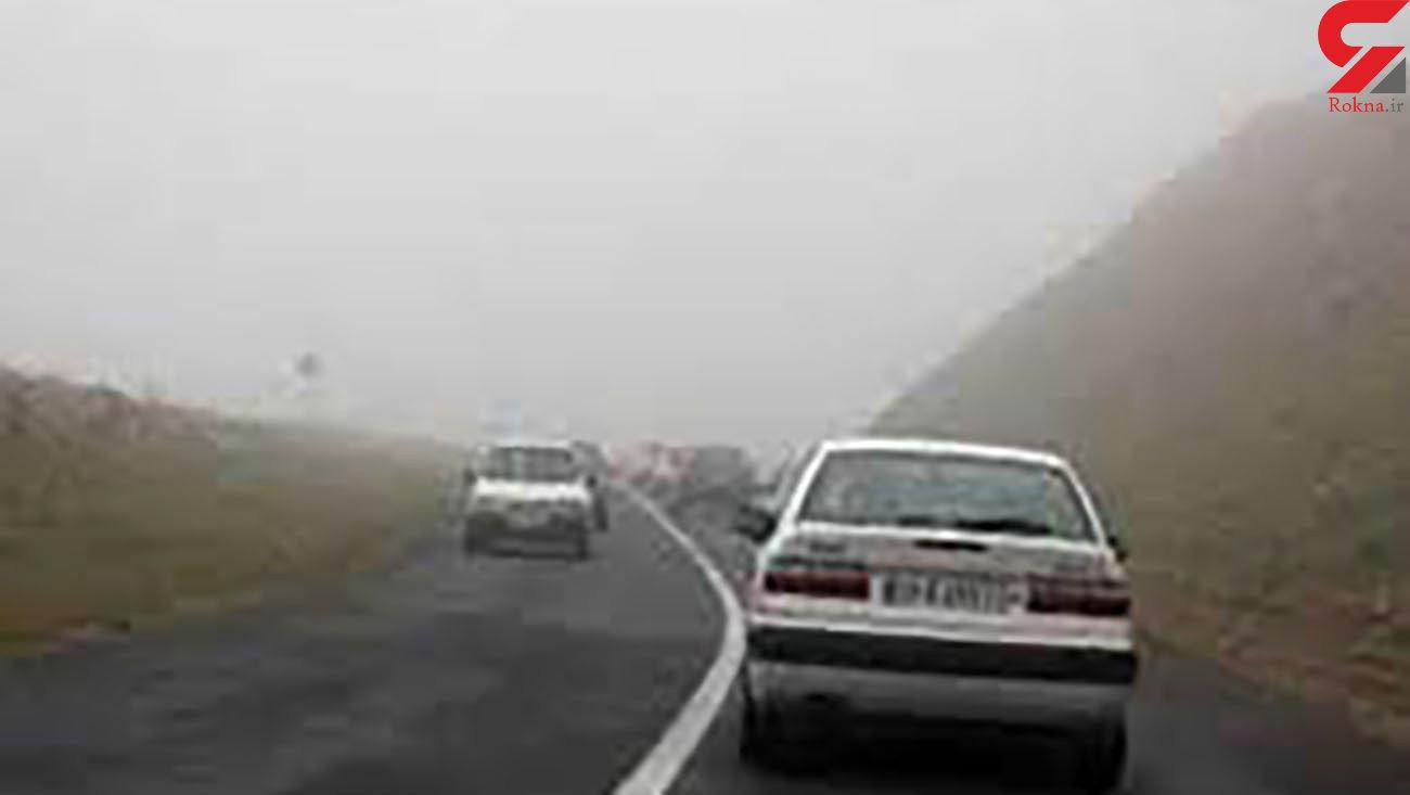 وضعیت ترافیکی جادههای کشور در 23 آبان 99