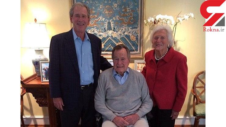 جرج بوش (پدر) رییس جمهور پیشین آمریکا به علت عفونت خونی در بیمارستان بستری شد