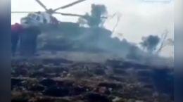 فیلم لحظه نجات فعال محیط زیست در آتش سوزی زاگرس
