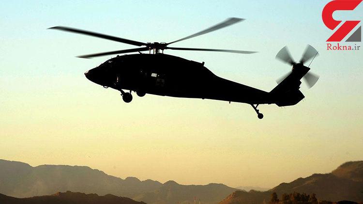 پرواز مشکوک بالگردهای آمریکایی بر فراز بغداد