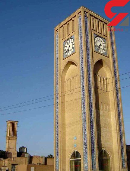 قدیمیترین ساعت شهری در ایران