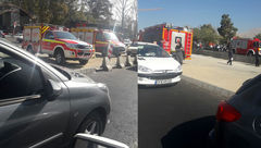 مردی امروز صبح در تقاطع نیایش ولیعصر خود را دار زد + عکس