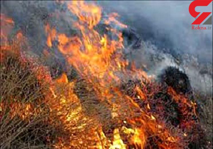 جرقه ترمز قطار عجیب ترین علت آتش سوزی گسترده سلفچگان