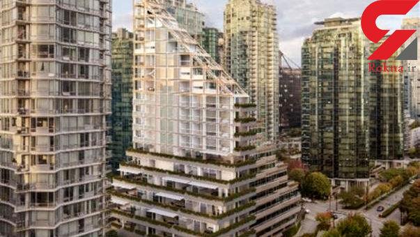 طراحی بلندترین سازه چوبی و سیمانی دنیا +تصاویر