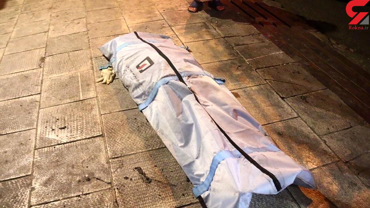 4 عکس از زنده زنده سوختن مرد جوان خیابان آرژانتین