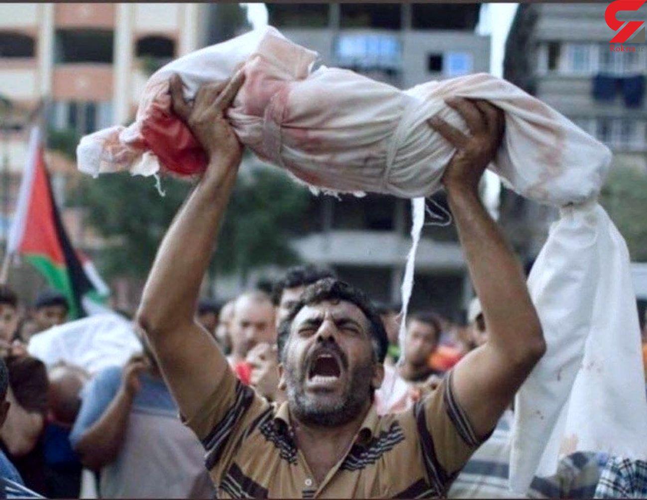 تازهترین آمار شهدای فلسطینی پس از حملات رژیم صهیونیستی