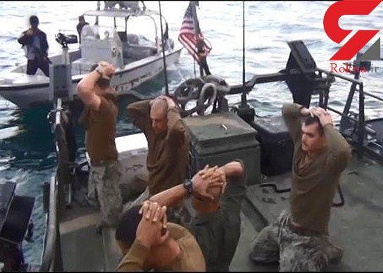 وقتی اشک تفنگدار آمریکایی در خلیج فارس درآمد