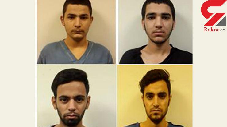 این 4 مرد را می شناسید /  با تهرانی ها برخورد مخوف می کردند + عکس چهره باز