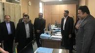 وزیر دادگستری از اداره کل تعزیرات حکومتی تبریز بازدید کرد