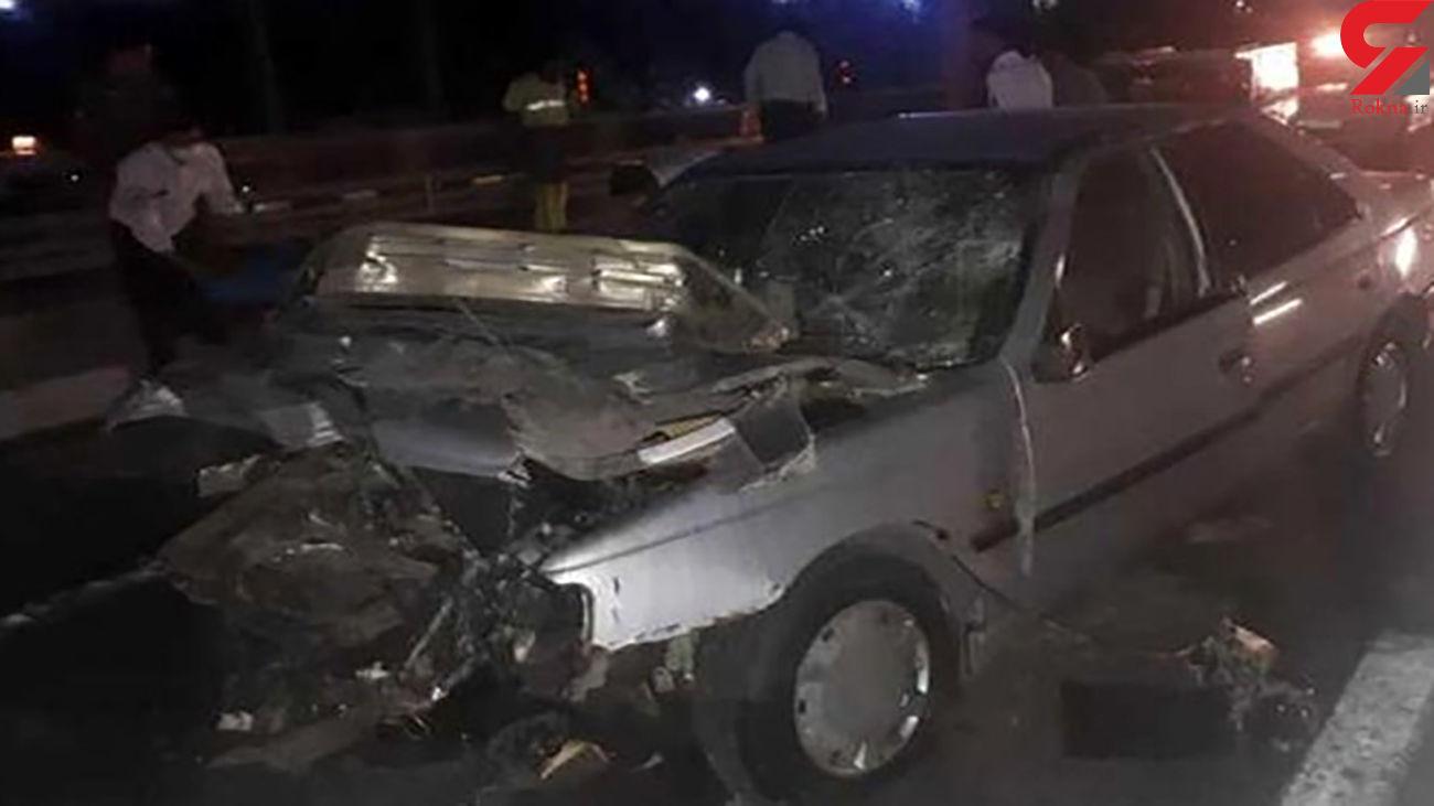 تصادف پژو با پراید 5 کشته و مجروح برجای گذاشت