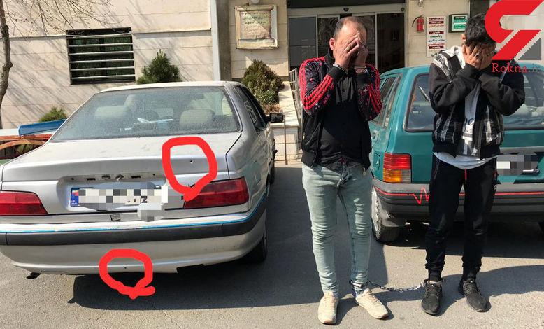 وحشت مردم از تیراندازی های پلیس به 3 جوان در فردوس غرب+ عکس