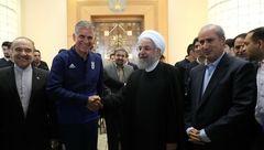 رئیسجمهور در دیدار بازیکنان تیم ملی: گروهمان سخت است/ خیلی به اینکه مقابل چه تیمی هستید فکر نکنید